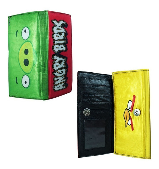 Angry Birds Cartera Larga Pig Chuck