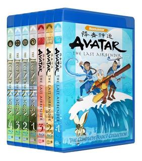 Avatar A Lenda De Aang E Korra Em Bluray