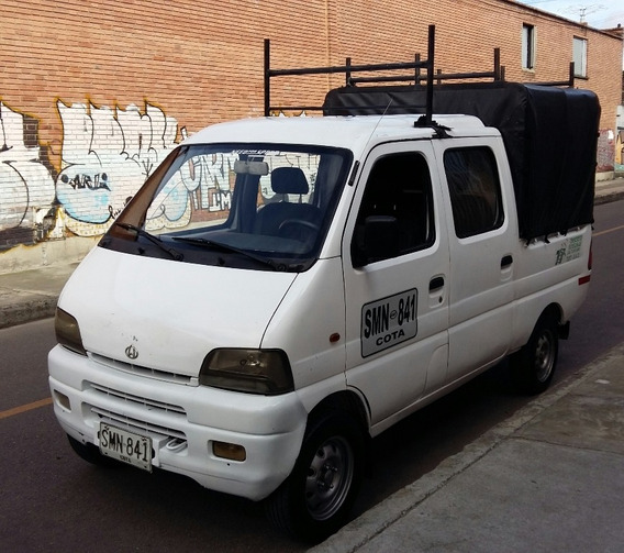 Chana Doble Cabina Servicio Publico Operación Nacional