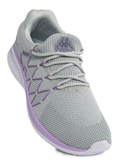 Zapatillas Kappa Rieti W Grey Lt/violet Lila