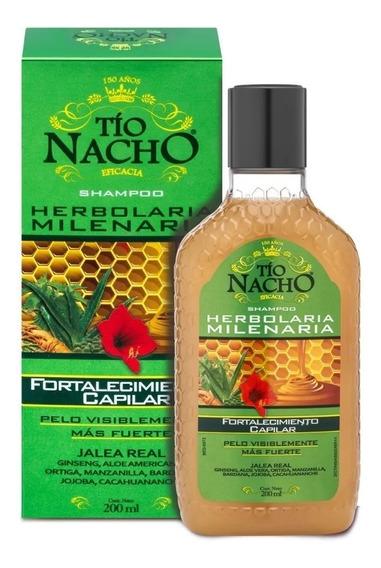 Shampoo Tio Nacho Herbolaria Milenaria X 200 Ml