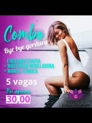 Combo Bye Bye Gordura E Miss Bumbum