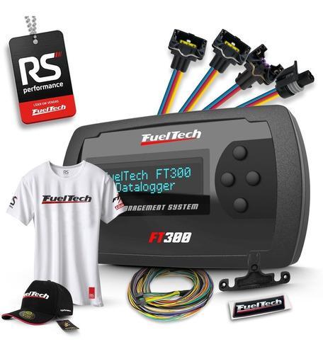Fueltech Ft300 3m + Kit 13 Chicotes Gm 8 Bicos + Brindes