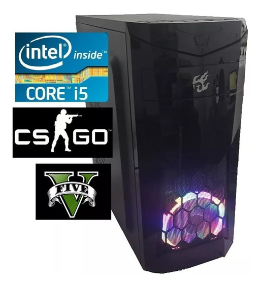 Cpu Pc Gamer Core I5 3.6ghz 16gb Ssd240gb Fonte 500w