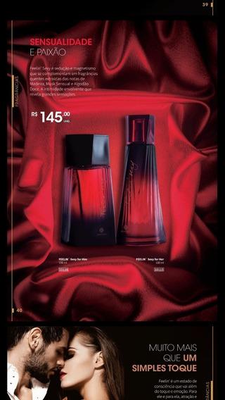 Lançamento, Perfumes Hinode Feelin Sexy! 100 Ml.