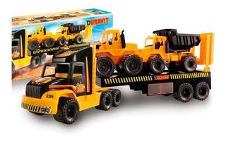 Camion Super Constructor Maquina Vial Duravit Lloretoys