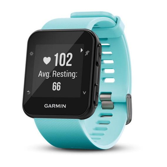 Relógio Esportivo Garmin Forerunner 35 Azul Com Medição