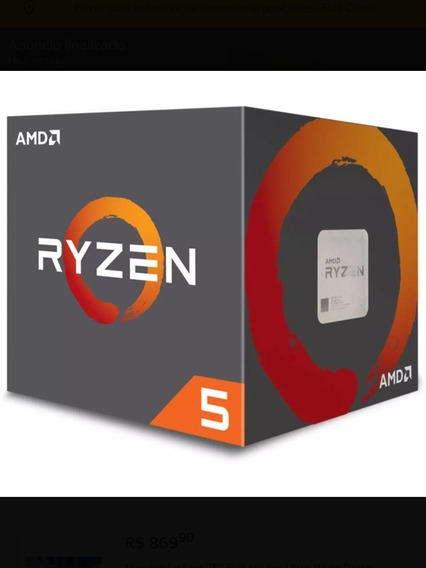 Processador Ryzen 5 1500x