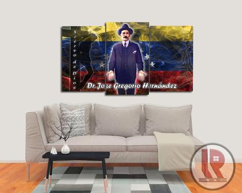 Cuadro Jose Gregorio Hernandez En Mdf Y Barniz Protector