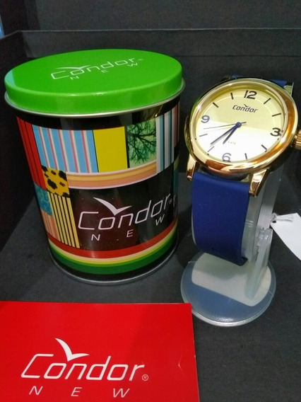 Relógio Condor Bracelete Feminino Azul