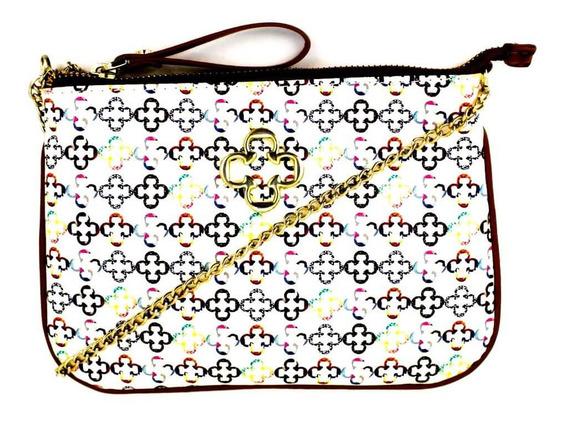 Bolsa Feminina Capodarte Pequena Tiracolo Monograma 4602074