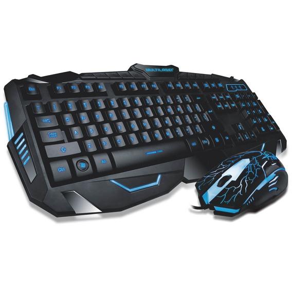 Combo Teclado E Mouse Gamer Com Fio 3 Cores