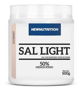 Sal Light 50% Menos Sódio 500g Newnutrition