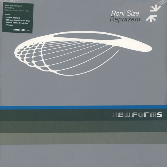 Roni Size Reprazent - New Forms 20th Anniversary [vinyl] 2lp