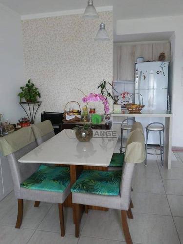 Imagem 1 de 16 de Apartamento Com 3 Dormitórios À Venda, 70 M² Por R$ 450.000 - Morumbi - Paulínia/sp - Ap17486