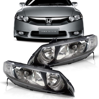 Par Farol New Civic Honda 2006 2007 2008 2009 2010 2011
