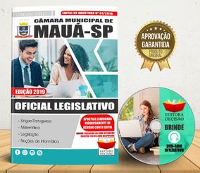 Apostila Oficial Legislativo - Câmara Municipal Mauá Sp 2019