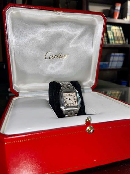Reloj Panthère De Cartier (acero) Original