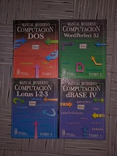 Manual Moderno De Computación 4 Libros (primera Edición)