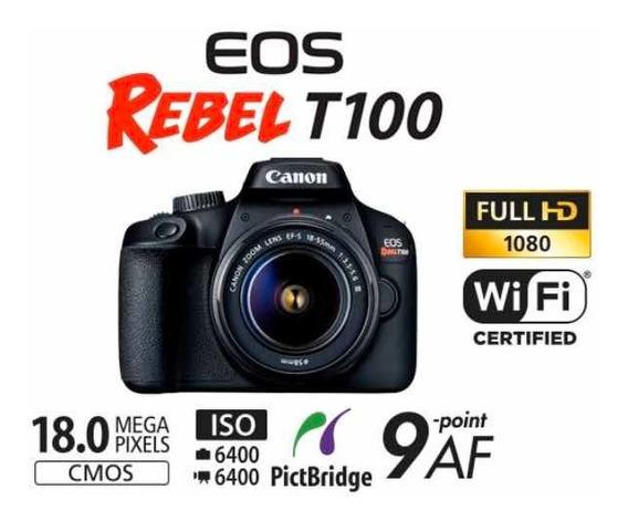 Câmera Eos Rebel T100