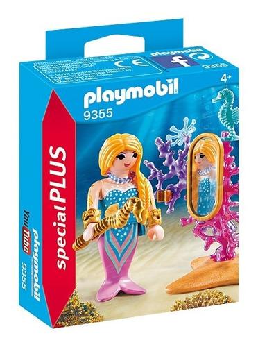 Playmobil 9355 Sirena Con Corales Linea Special Plus Edu Ful