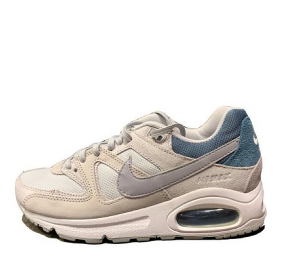 Tênis Feminino Nike Air Max Command Branco Original Disports