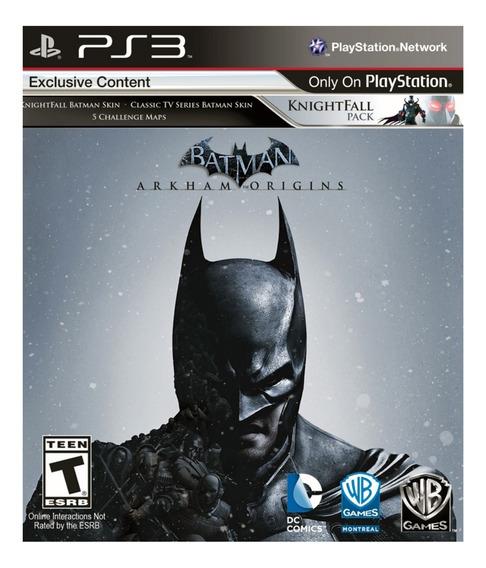 Batman Arkham Origins Seminovo Oferta! Loja Física!