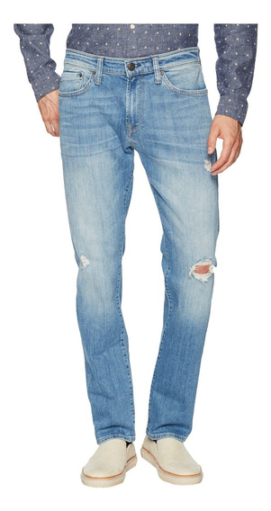 Mavi Jeans Marcus Regular Rise Slim Straight In Light Usado