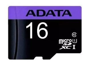 Cartão De Memória Adata Ausdh16guicl10-ra1 Premier Com Adapt