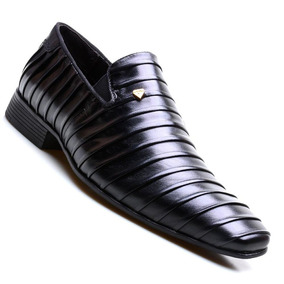 Sapato Social Masculino Calvest Napoleoni Preto 2490c423