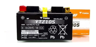 Bateria Yuasa Ytz10s De Gel