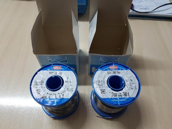 Solda Best Azul 189 Msx10 60x40 500g Fio 1.00mm (2un. Usado)