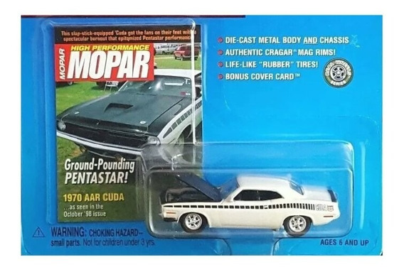 1970 Plymouth Arr Cuda Mopar Musclecar Johnny Lightning Sa17