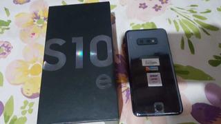 Celular S10 E Negro Liberado Como Nuevo
