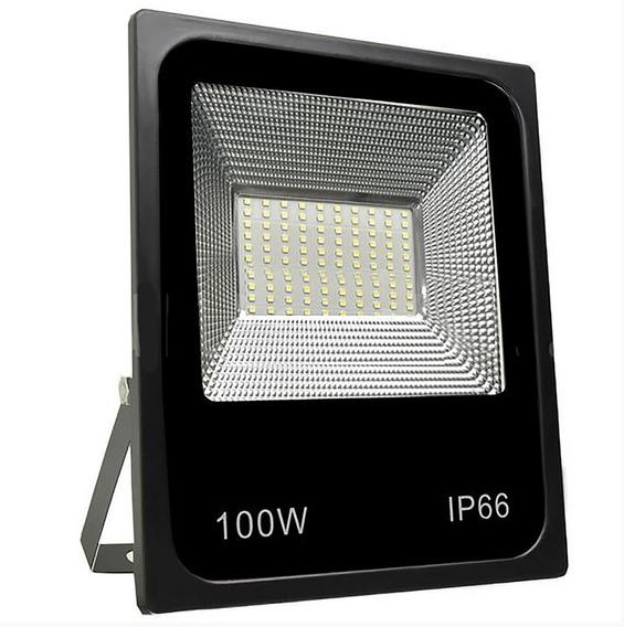 Refletor Holofote Microled 100w Led Smd Branco Frio Ip67
