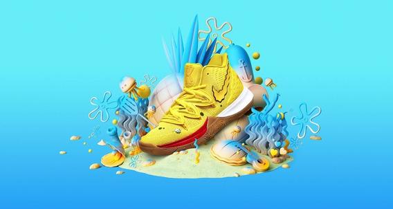 Zapatillas Nike Kyrie 5 Kyrie Low 2 Bob Esponja Colección