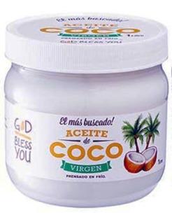 Aceite De Coco Virgen X 1 Litro God Bless You
