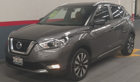 Nissan Kicks 5p Exclusive 1.6l Ta A/ac. Aut Piel Ve Gps Ra