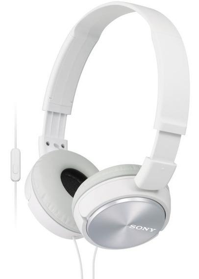 Auricular Mdr-zx310/bquc Blanco Sony
