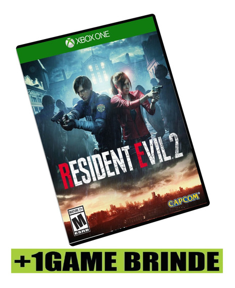 Resident Evil 2 Remake Deluxe Xbox One Mídia Digital +brinde