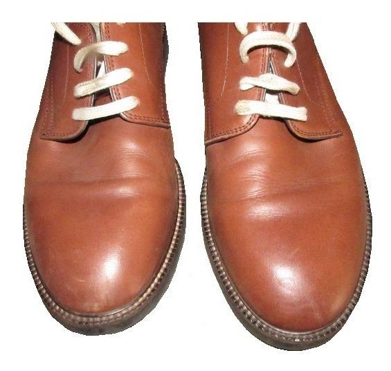 Zapatos Zara Man Vestir Marrón Claro 43 C/nuevo Envíos