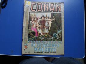 Revista Conan Em Cores Nu-9 O Tesouro Maldito Linda Ilustra