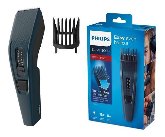 Maquina De Cortar Cabelo Barba Philips Hc3505 13 Ajustes