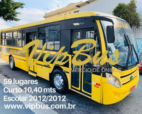 Micrão Escolar 57 Lugares 2012 Financia 100% Vipbus