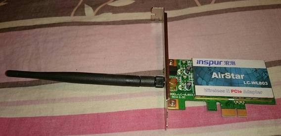 Tarjeta De Red Inalambrica Wifi Pci