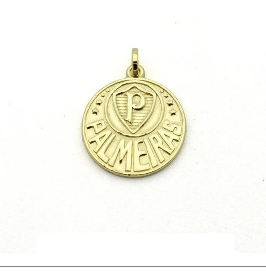 Pingente Palmeiras Folheado A Ouro 18k