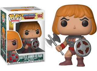 Funko Pop! Television Battle Armor He- Man # 562 Replay