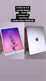 iPad Air 2 / Touch Id / Facetime/ Vendo O Cambio