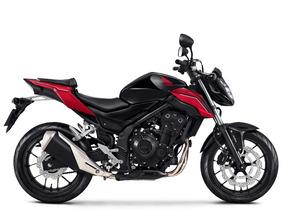 Moto Honda Cb500f 19/19 Zero Pta Entrega 3 Anos Garantia
