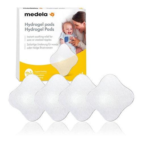 Almofadas De Hidrogel Proteção Mamilos Sensíveis Medela 4 Un
